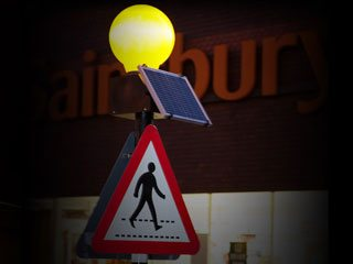 Solar Belisha Beacons