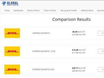 Custom DHL API Shipping Portal