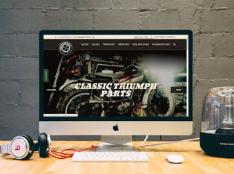 British Bike Bits Magento E-Commerce Website