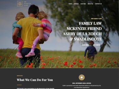 Family Lawyer Web Design