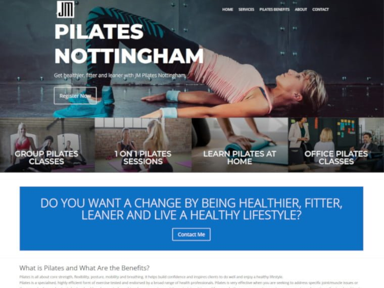 Pilates Nottingham