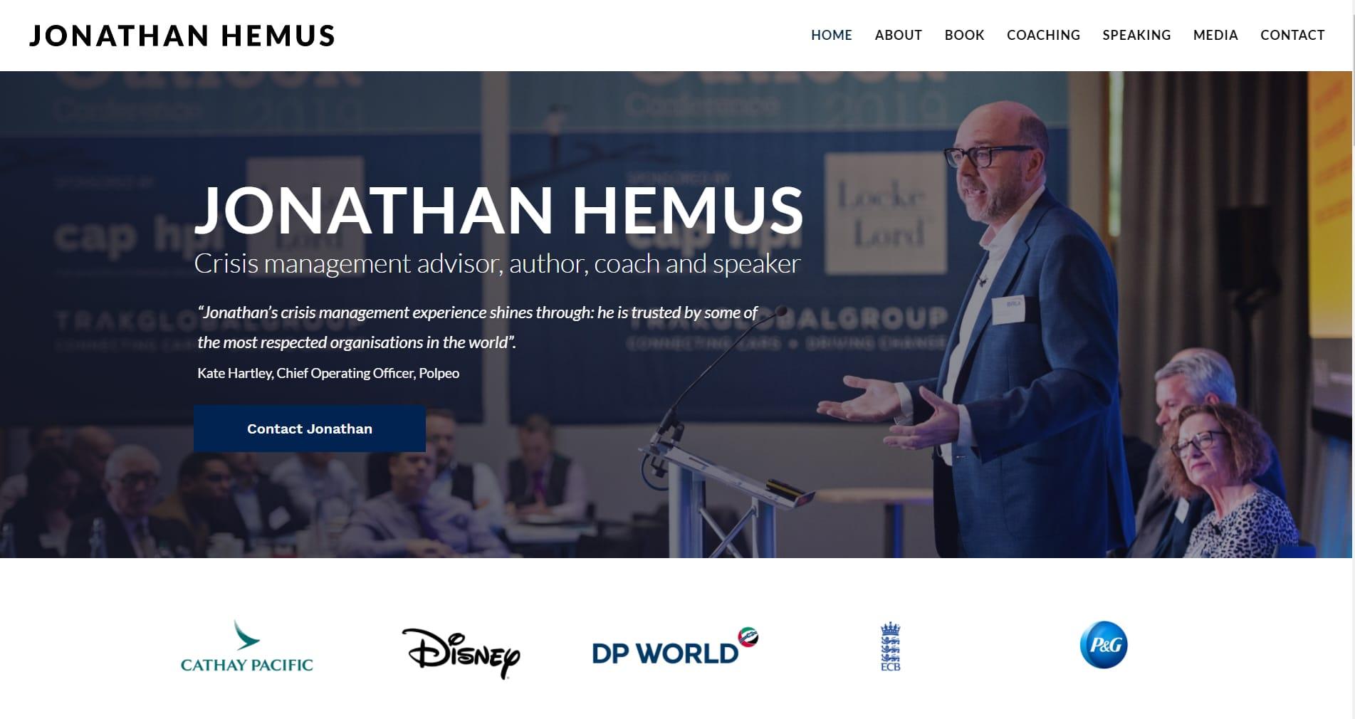 Jonathan Hemus CEO Web Design
