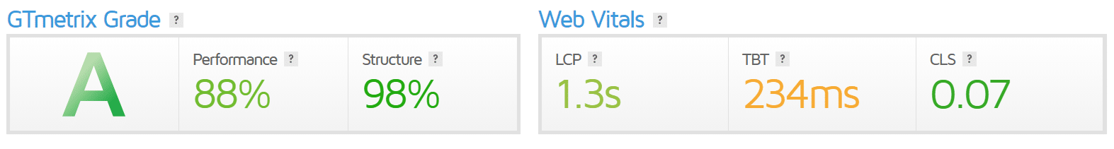 Vitalize Page Speed Optimisation